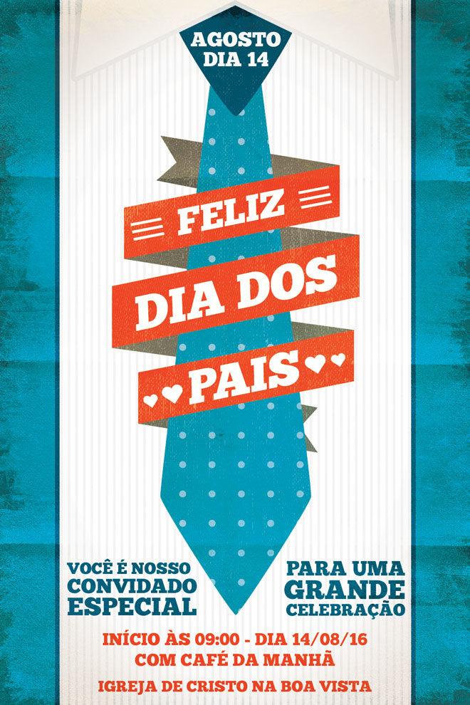 138a839bf Culto Especial do Dia dos Pais - 14/08/16 - Igreja de Cristo na Boa ...